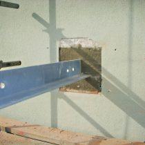 Installation av balkonger på fasad