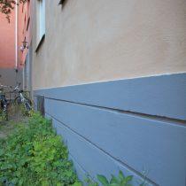 Renovering av putsad fasad