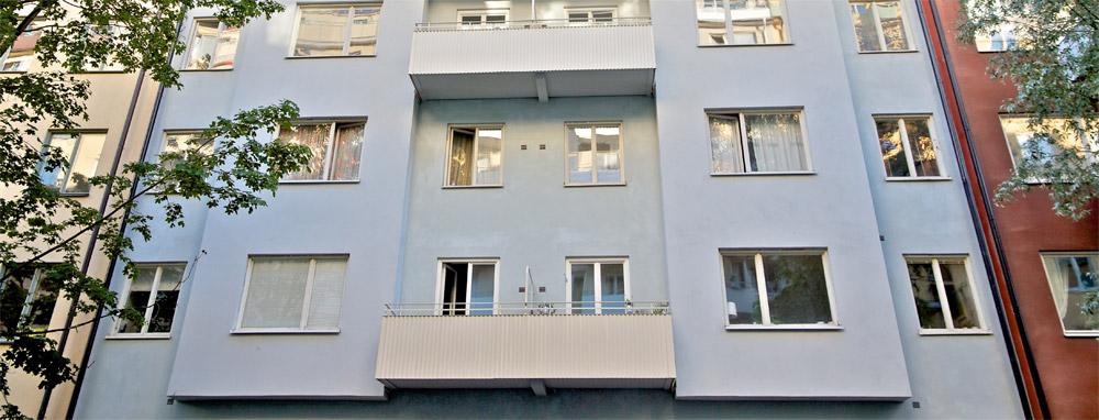 Bygga balkonger fastigheter