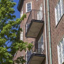 Bygga balkong gammalt hus Stockholm