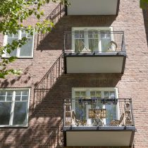 Bygga balkonger på fastighet