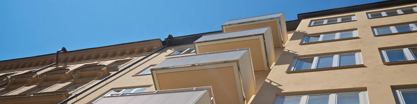 Bygga balkonger