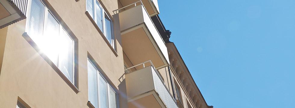 Bygga balkonger fastigheter Stockholm